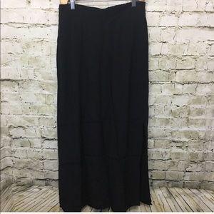 LOFT Black Stretch Waist Maxi Skirt G11